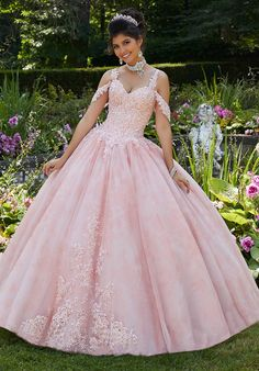 Get the beautiful Floral Printed Tulle Quinceañera Ballgown by Morilee 89265 and other amazing Morilee quinceanera dresses on Mi Padrino. Ball Gowns Prom, Ball Gown Dresses, 15 Dresses, Wedding Dresses, Light Pink Wedding Dress, Fashion Dresses, Pageant Dresses, Turquoise Quinceanera Dresses, Charro Quinceanera Dresses