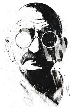 Seja a mudança que você quer ver no mundo - Gandhi