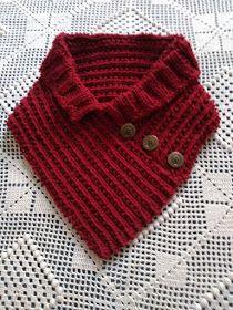 TRICODAVANDA: Gola de trico com receita Crochet Scarves, Accessories, Mascara, Fashion, Scarf Crochet, Knit Jacket, Caps Hats, Ponchos, Rice