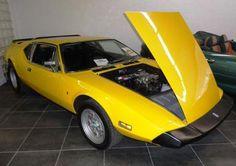 Review the Exceptional Value of a 1970s De Tomaso Pantera: 1973 De Tomaso Pantera in Speed Yellow