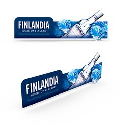 Shelftalker Vodka Finlandia on Behance