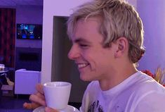 Adorable Love His Smile <3 ross have adorble sassy wonderful amezing butiful smile