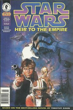 Star Wars Heir to the Empire comic issue 6