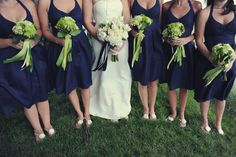 Green & Navy wedding