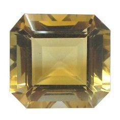 39.39 ct Emerald Cut Citrine Rich Yellow -Gold Crane & Co.