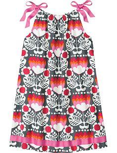 Pillowcase Dress from #HannaAndersson ... rehearsal dinner dress for the girls