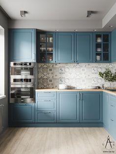 Choosing New Kitchen Cabinets Kitchen Room Design, Kitchen Cabinet Design, Modern Kitchen Design, Home Decor Kitchen, Interior Design Kitchen, Kitchen Living, Kitchen Furniture, New Kitchen, Home Kitchens