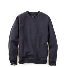 T by Alexander Wang Fleece Sweatshirt (3.023.900 IDR) ❤ liked on Polyvore featuring men's fashion, men's clothing, men's hoodies, men's sweatshirts and ink