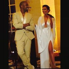 Kim and Kanye's wedding: all the photos - Vogue Australia