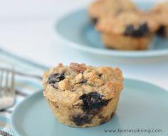 Gluten Free Oatmeal Breakfast Muffins