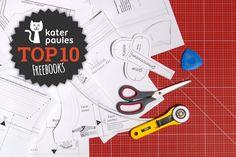 Top 10 Montag! Die besten Freebooks für Nähanfänger! Sewing Hacks, Sewing Tutorials, Sewing Projects, Sewing Patterns, Sewing Kids Clothes, Sewing For Kids, Diy Clothes, Love Sewing, Baby Sewing