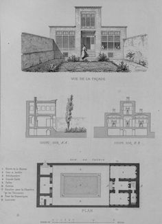 Pascal Coste, Studying, Art Work, Temple, Arch, Floor Plans, House, Architecture, Artwork