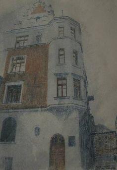 kamienica w Lublinie | digart | digart.pl Ferens design Joanna Ferens - Hofman portret rysunek