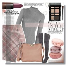 """""""Style with Attitude"""" by xwafflecakezx ❤ liked on Polyvore featuring Thierry Mugler, Chicwish, Gianvito Rossi, NARS Cosmetics and Bobbi Brown Cosmetics"""