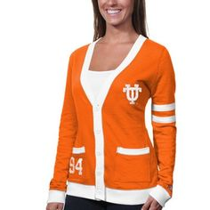 Tennessee Volunteers Womens Any Day Cardigan - Tennessee Orange