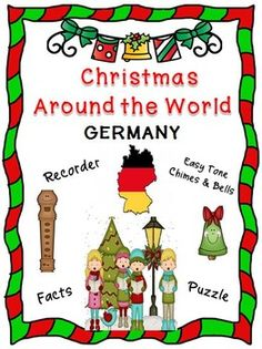 "*** FREE ***  Curriculum integration tool incorporating music, history and cultural traditions. Facts about Germany, singing a famous German Christmas carol, ""O Christmas Tree"" and playing a recorder and/or Easy Tone Chimes & Bells arrangement.  Materials: • Teaching Suggestions • Fact Sheet • Song Sheet: O Christmas Tree • Music for Recorder • Music & Instructions for Tone Chimes & Bells • Word Find Puzzle (includes Answer Key)  This product uses a ""non-music reading"" approach"