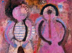 Retrato de niños (Pareja de niños) - Rufino Tamayo