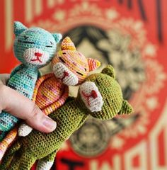 Crochet Cats Free Patterns