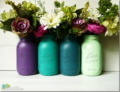 The Original Painted Mason Jar - Mason Jar Crafts Love