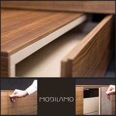 MOBILAMO Qualität vom Tischler - zu online Preisen! Wood Veneer, Real Wood, Montage, Designer, Home, Carpenter, Ad Home, Homes, Plywood
