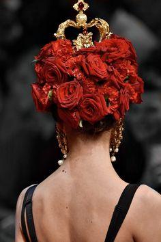 Dolce & Gabbana S/S 2015 #baroque