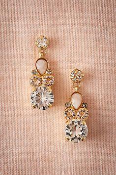 Natural Wonders Earrings by BHLDN   ||  Perfect  Wedding or Bridesmaid Earring   ||  Follow @KWHBridal