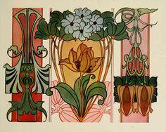 Sandie Goble's Printable Heaven Blog: Beautiful Art Nouveau Designs