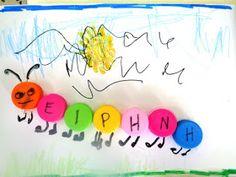 Αναγνωρίζουμε το αρχικό του ονόματός μας ''Τα ανθρωπογραμματάκια μας'' ''Πρίγ...