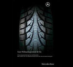 Mercedes-Benz: Christmas tree