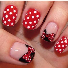Minnie Nails!