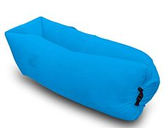ESOW Inflatable Waterproof Lounger Special Pillow Design With 3 Side Pockets and Compression Bag Inflatable Sofa Air Beach Lounger Inflate IN SECONDS Lightweight and Versatile Anywhere AnytimeNavy >>> Learn more by visiting the image link.