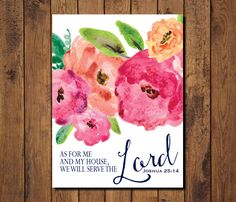 Instant Downloads, Stationery AND Premium Art Prints!  Bible verses, scripture, nursery art, and more!