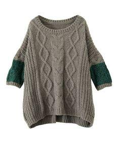 TF Knitwear - note shoulder construction.