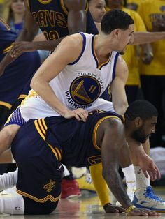 kyrie irving and klay thompson