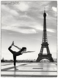 Paris - Yoga Bliss Photo - Artistic Yoga Portraits by Sandy Foster - Dallas Photographer