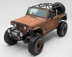 Rusted Terra Crawler Jeep Cop 4×4