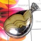 925 STERLING SILVER WITH SCHLEM BLAND GEMS PENDANTS Schlem Bland  By Shaurya International