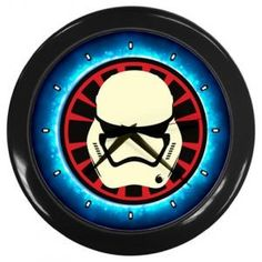"STAR WARS VII THE FORCE AWAKENS STORMTROOPER 10"" WALL CLOCK $14.99"