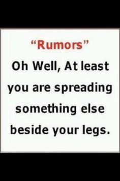 Rumors Quotes and Sayings | Rumors.. | Quotes & Sayings