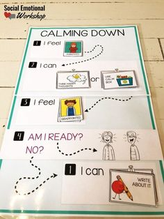 A calm corner are great tools in the classroom to improve student self regulation, manage behavior, and build social emotional skills. Counseling Office, Elementary School Counseling, School Counselor, Behaviour Management, Classroom Management, Coping Skills, Social Skills, Social Work, Calm Down Corner