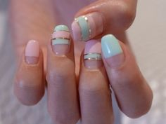 I would do this but it would have to be almond nails