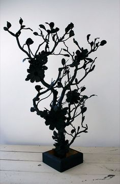 Gothic Manzanita tree Centerpiece by Gonnagethitched on Etsy, $65.00
