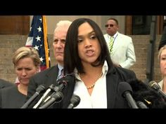 Marilyn Mosby Attacked Immediately After Announcing Charges Against Cops