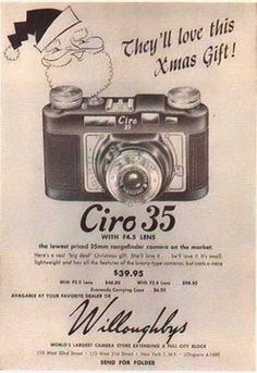 vintage everyday: Vintage Camera Ads for Christmas