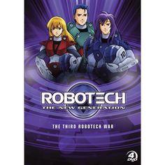 Rook Bartley, Scott Bernard, & Lancer - Robotech:The New Generation