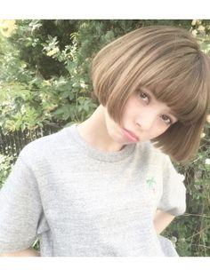 コクーン(Cocoon)今旬!!切りっぱなしマチルダボブ 園田雄史