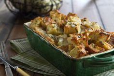 Easy Cheese and Herb Bread Pudding... need I say more?