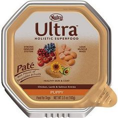 Nutro Ultra Puppy Pate Chicken, Lamb and Salmon Entree Dog Food Trays - 3.5-oz tray, case of 24 *** Want additional info? Click on the image. (This is an affiliate link and I receive a commission for the sales) #DogCare