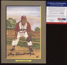 Perez Steele Great Moments #34 Ray Dandridge Autographed PSA/DNA - Signed MLB Baseball Cards by Sports Memorabilia. $63.75. Perez Steele Great Moments #34 Ray Dandridge Autographed PSA/DNA