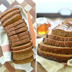 Whole Wheat Honey Cake Baby Food Recipes, Food Network Recipes, Sweet Recipes, Cooking Recipes, Greek Cookies, The Kitchen Food Network, Kids Menu, Honey Cake, Breakfast Snacks